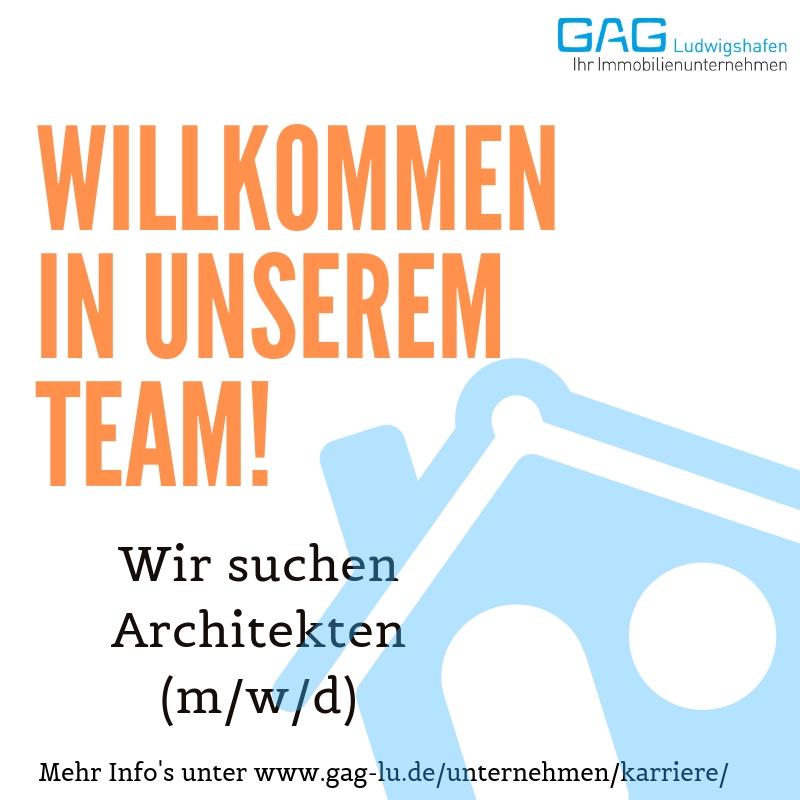 stellenanzeigen architekt stellenanzeigen gag ludwigshafen