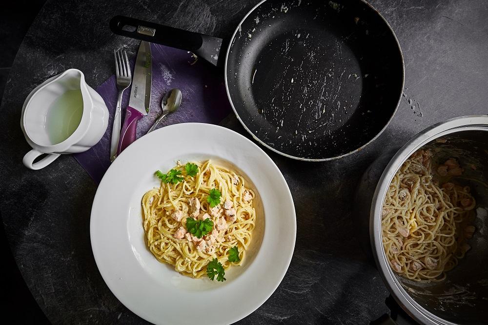 Spaghetti al Sálmone